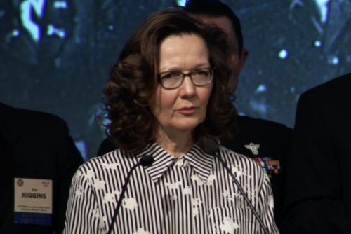 Gina Haspel is first woman to lead the CIA