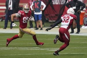 49ers rule out All-Pro TE George Kittle for game vs. Jets