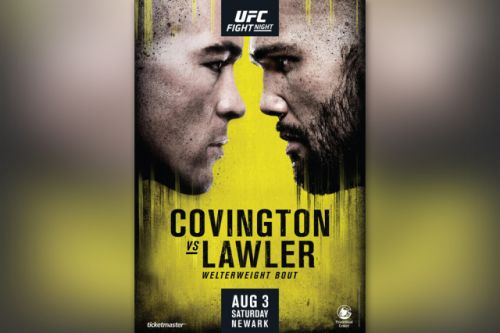 UFC on ESPN 5 poster released: Robbie Lawler vs. Colby Covington dubbed 'teammates turned rivals'