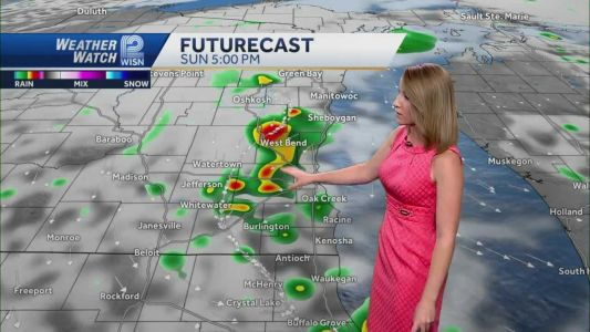 Videocast: Shower chances continue Monday