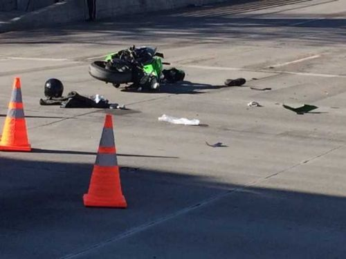 Motorcyclist in critical condition after being struck in Omaha