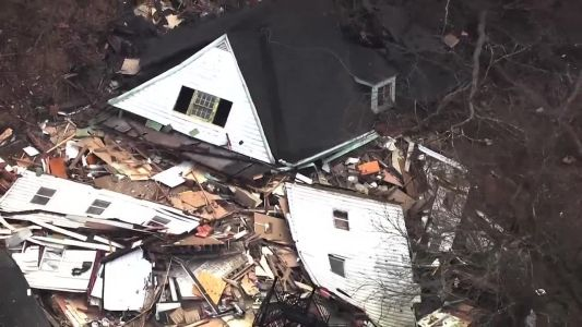 Home collapses in Perry North due to landslide