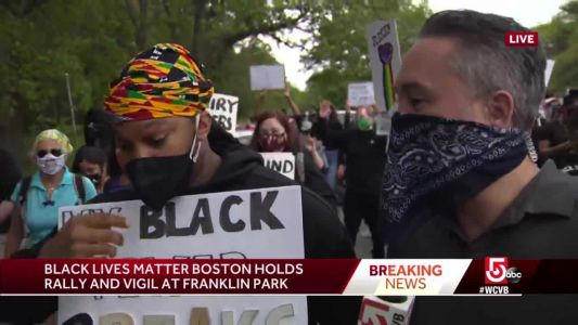 'Our lives matter, Black Lives Matter,' Boston protester says