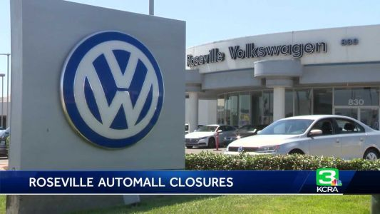 2 dealerships in Roseville Automall close their doors