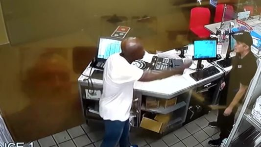 Crazy video: Domino's customer attacks manager over wrong pizza