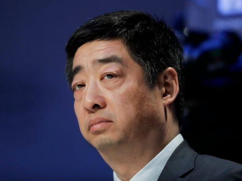 Huawei's chairman brazened it out among world leaders at Davos, talking up 5G while the company faces a criminal probe