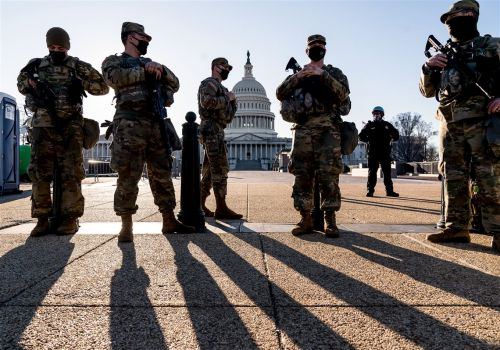 Police request 60-day extension of National Guard at US Capitol