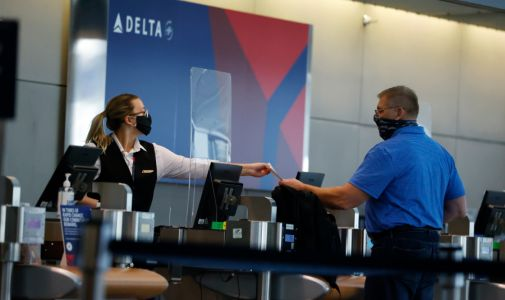 "Delta bans 100 passengers from taking flights and adding them to a ""no fly"" list for refusing to wear masks"