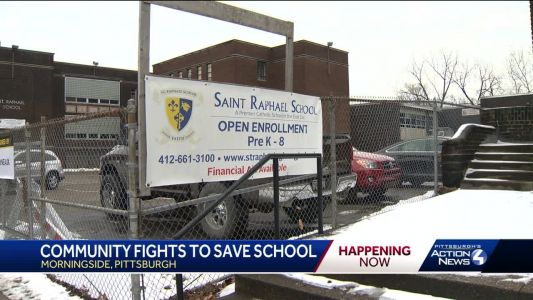 Community fights to save St. Raphael School in Morningside