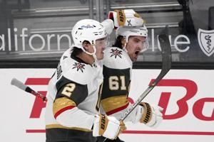 Golden Knights rally after slow start, beat Kings 4-2