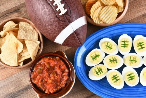 Most Super Bowl party attendees enjoy the food more than the game