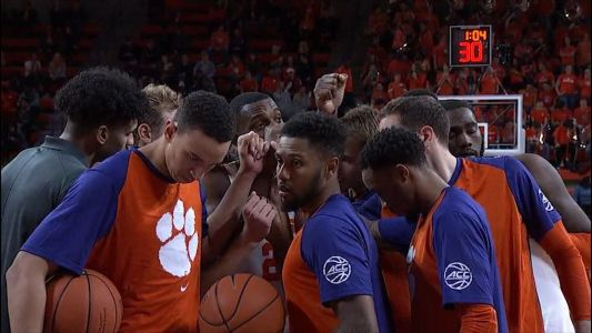 No. 19 Clemson uses big second half to knock off Sam Houston State