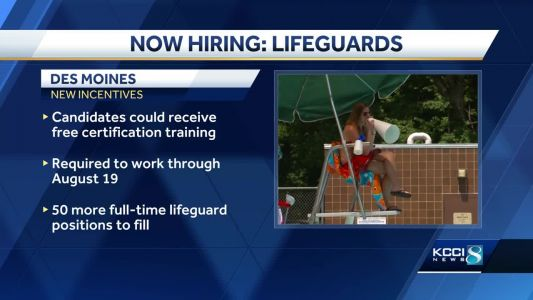 City to hire 50 lifeguards before pools open