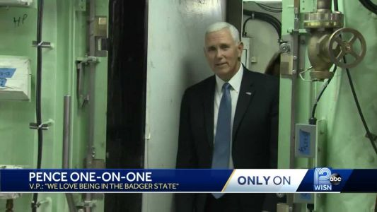 Vice President Pence pushes USMCA during stop in Marinette