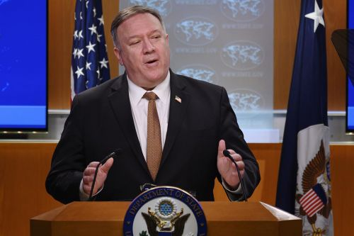 Mike Pompeo suddenly finds his voice on the virus