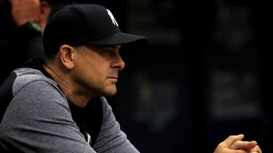MLB would 'benefit' from mercy rule, Yankees manager Aaron Boone says