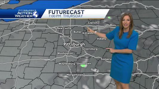 Less Humid and Mostly Sunny