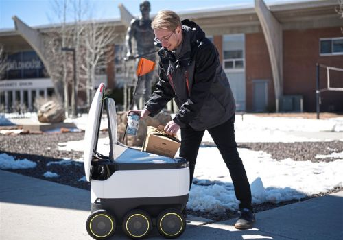The future of food delivery could be. robots? Pitt is testing it out
