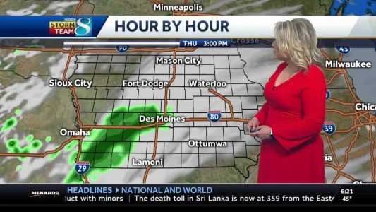 More rain on the way before the weekend