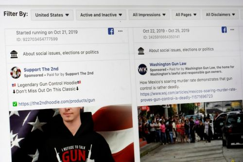Facebook tries to block tool aimed at promoting transparency around political ads