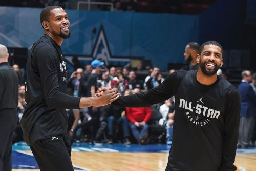 Kyrie Irving is enjoying the chaos he can sow