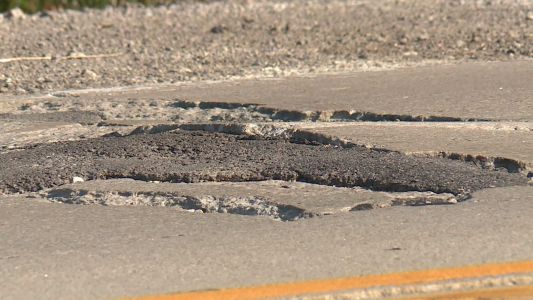 'The concrete literally explodes' CB mayor says weather wreaking havoc on roads
