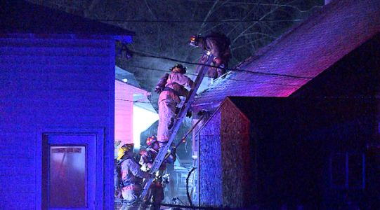 Woman displaced after fire at Council Bluffs home