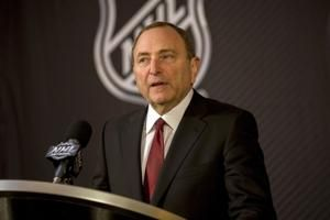 Bettman raises chance of NHL not completing regular season