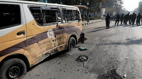 ISIS claims responsibility for Kabul attack after over 20 rockets hit Afghan capital, killing 8