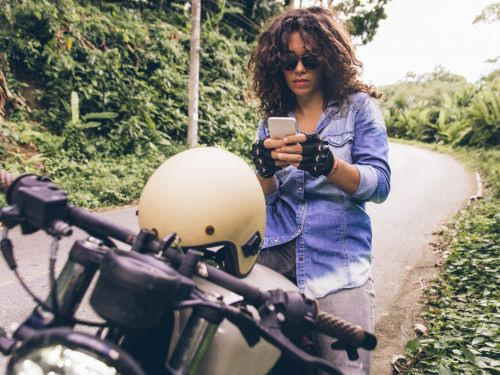 An Instagram influencer who documented her motorcycle crash says she wasn't glamorizing the accident and the posts weren't sponsored