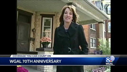 Lori Burkholder is thankful to her hometown of Middletown for helping make her the person she is today