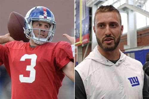 Giants' other quarterback battle is one of survival