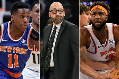 Knicks' All-Star break report card: Weight on future means no failures