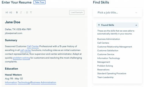 Resume Optimizer: Improve Your Resume for That New Job
