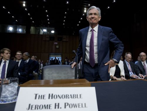 The Nasdaq hits an all-time high after upbeat Powell testimony