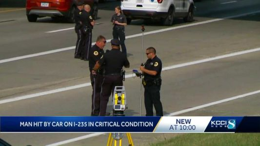 DMPD: Pedestrian struck by car in July 31 crash dies, no charges expected