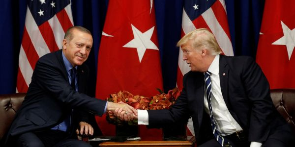 Why Trump doesn't want to punish Turkey over its Russia dealings, after threatening Germany for the same thing last week