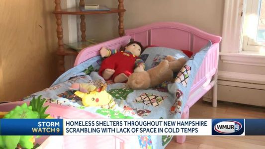 Shelters strained past limits during cold weather