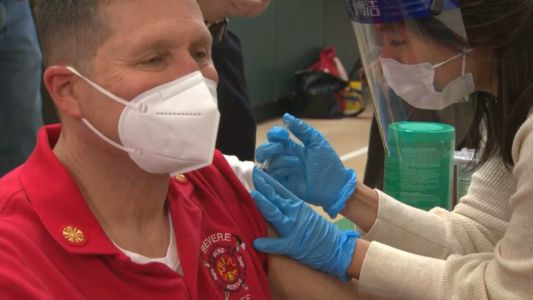 Mass. first responders continue to receive COVID-19 vaccine