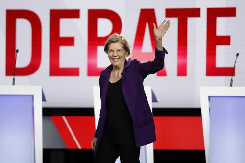 Warren rakes in tech donations as she pledges to break up donors' companies
