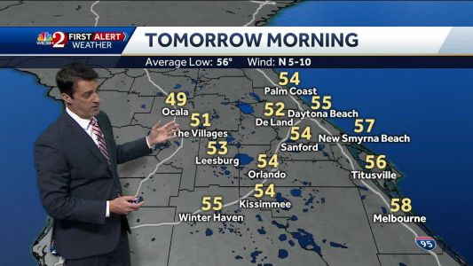 Cool Tuesday morning ahead
