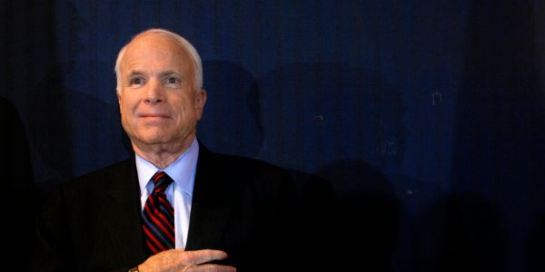 10 of John McCain's best quotes on courage, happiness, and character