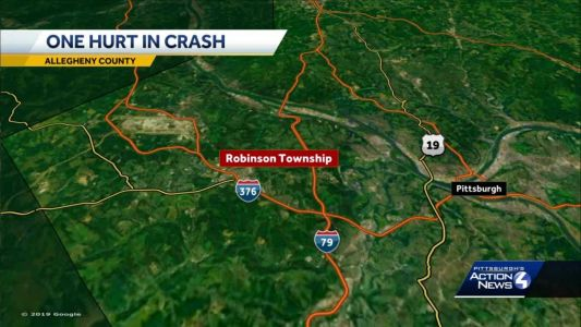 One person injured in I376 crash