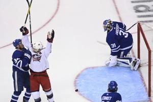 Blue Jackets eliminate host Leafs to advance