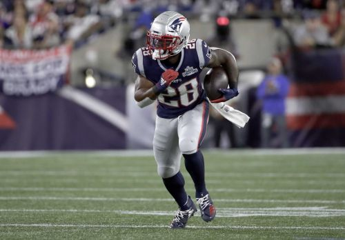 James White will miss Jets game as wife is expected to give birth
