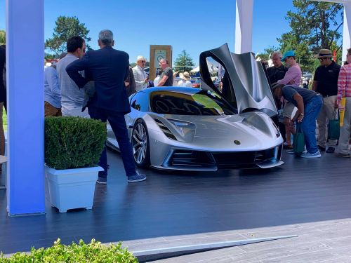 Thousands flocked to the Quail Motorsports Gathering in Carmel