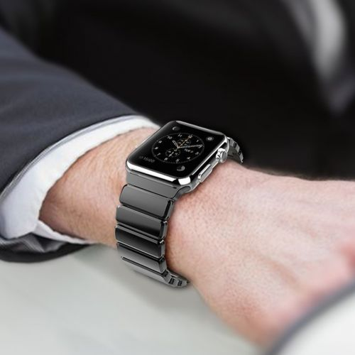 Swap your Apple Watch's style with this $19 Adjustable Stainless Steel Band