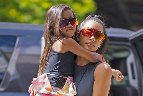 Kim K.'s daughter and nanny don't sit with her at restaurant