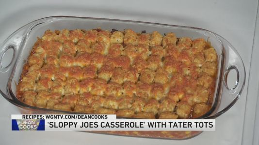 Dean shares recipe for Sloppy Joes Casserole with Tater Tots