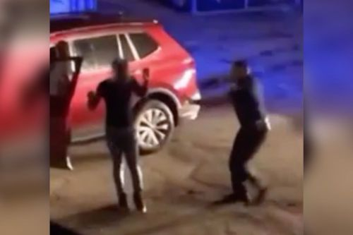 Cop suspended after video surfaces of him pistol-whipping driver